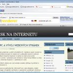 Náhled stránky v Internet Explorer 7 skrz IE NetRenderer